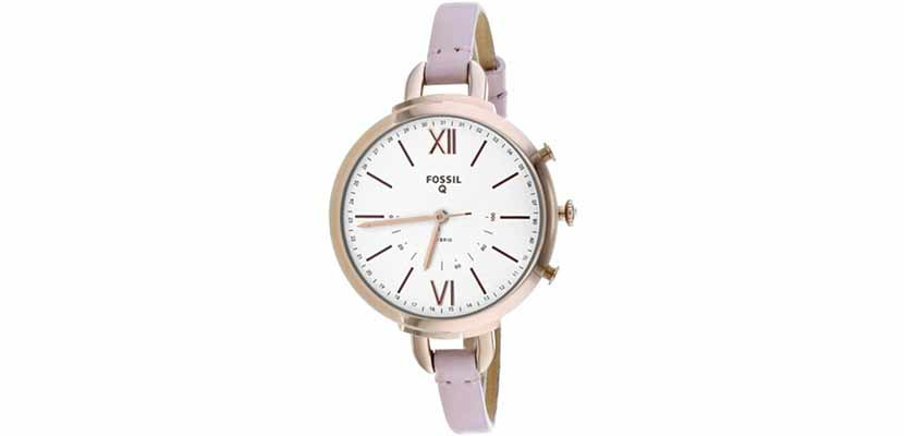 Fossil Annette Pink Leather