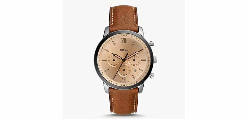 Fossil Neutra Brown Leather