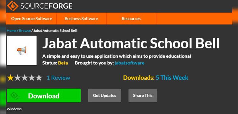 Jabat Automatic School Bell