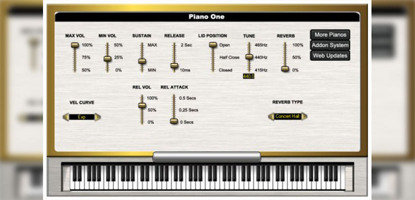 Piano One for PC