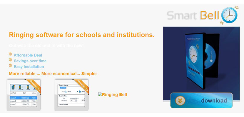 Smart Alarm System Ringing Bell