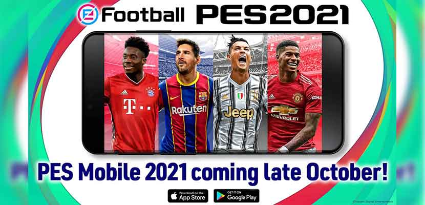 Update PES 2021 Mobile