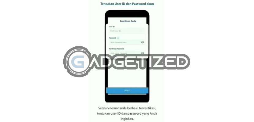 Buat UserID dan Password Mandiri Online
