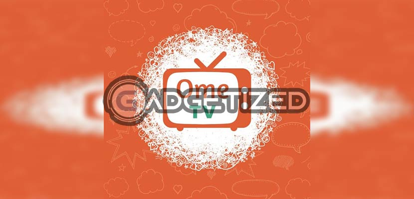 Buka aplikasi OME TV