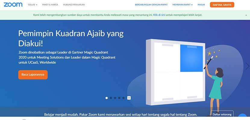 Cara Menampilkan Bahasa Indonesia di Zoom