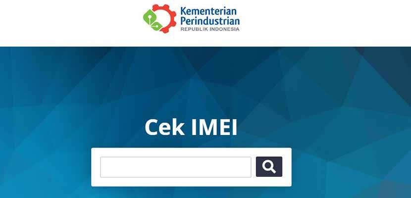 Melalui Nomor IMEI