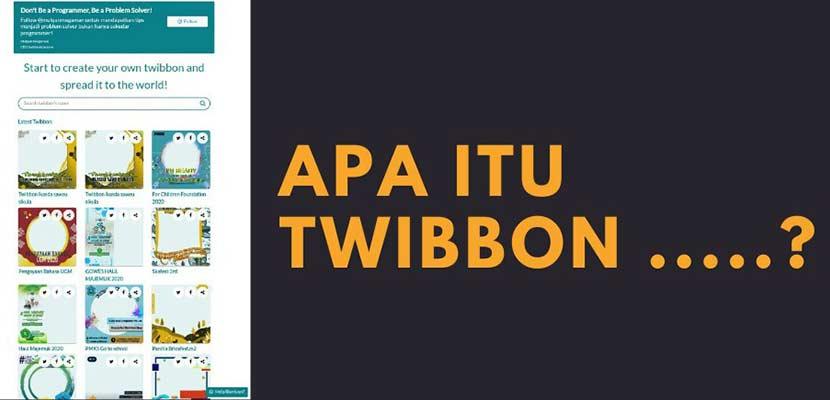 Apa Itu Twibbon