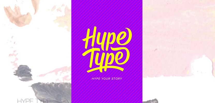 Aplikasi Hypetype