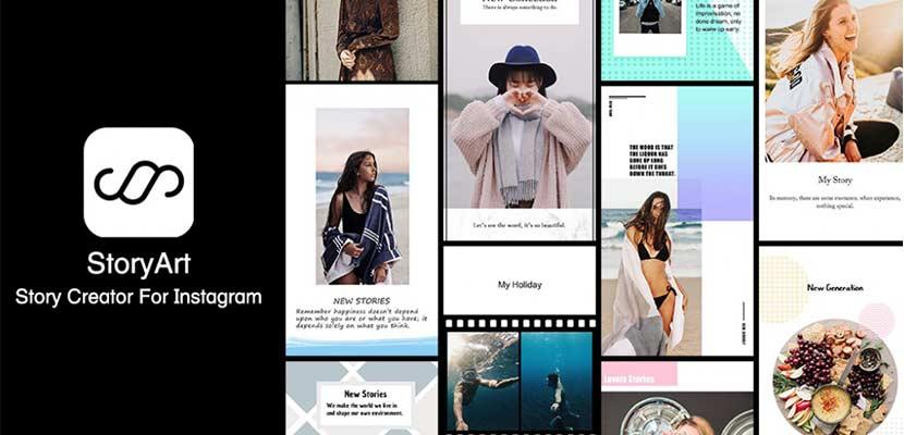 Aplikasi Storyart – Story Creator for Instagram