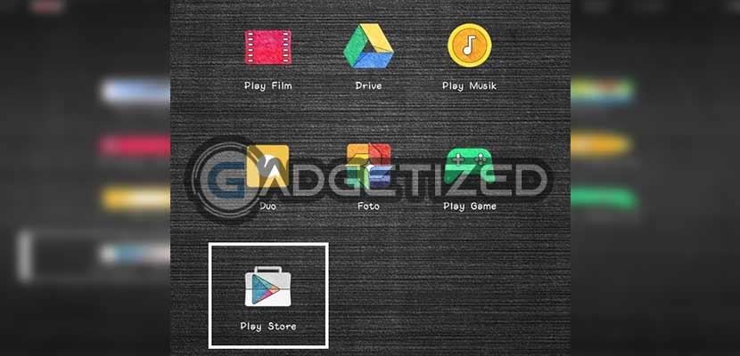 Buka Google Play Store di Smartphone