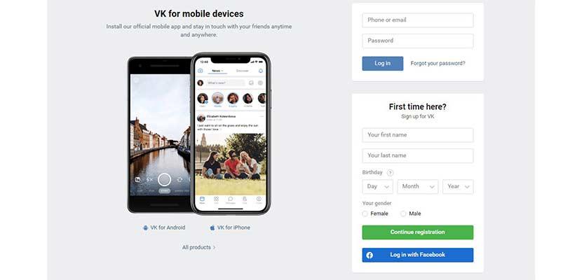 Cara Membuat Akun VK Untuk Mobile Legend