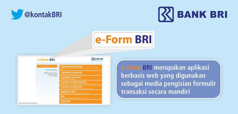 Syarat dan Cara Daftar eForm BRI Beserta Manfaat yang Ditawarkan