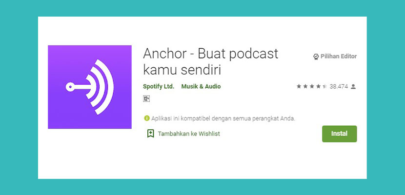 Anchor Aplikasi Podcast Indonesia
