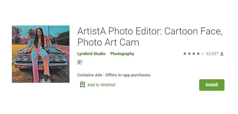 ArtistA Photo Editor