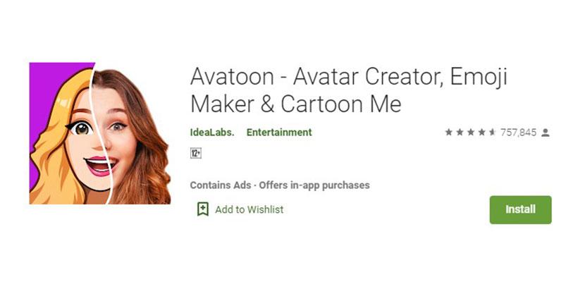 Avatoon Aplikasi Foto Jadi Kartun