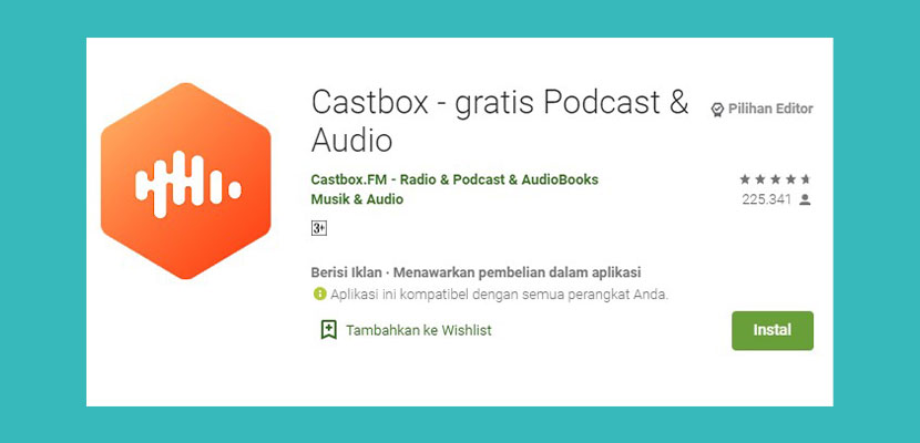 Castbox Gratis Podcast Audio
