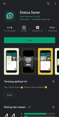 Download Aplikasi Status Saver