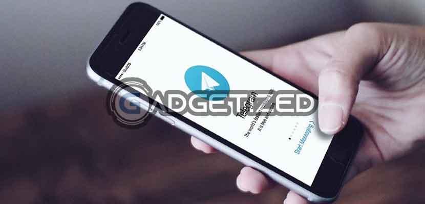 Jalankan Telegram di Smartphone