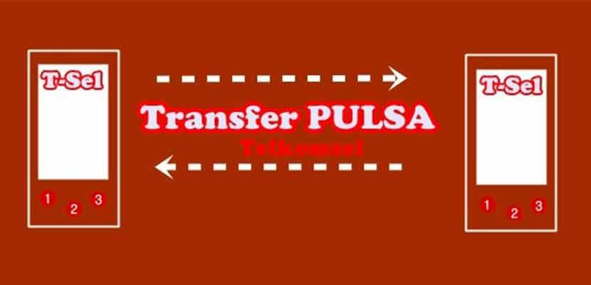 Melakukan Transfer Pulsa