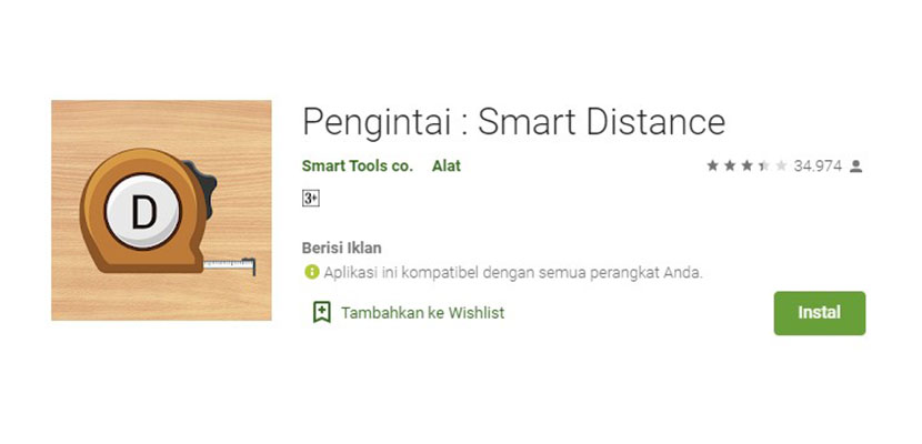 Pengintai Smart Distance