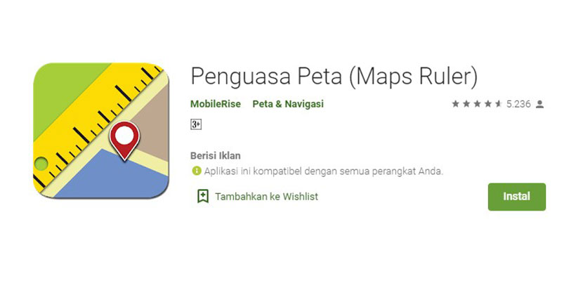 Penguasa Peta Maps Ruler