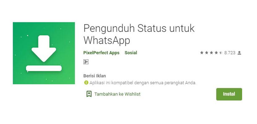 Pengunduh Status Untuk WhatsApp