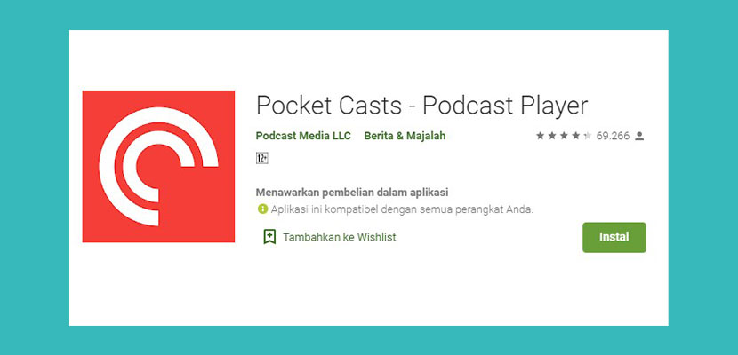 Pocket Cast Podcast Player