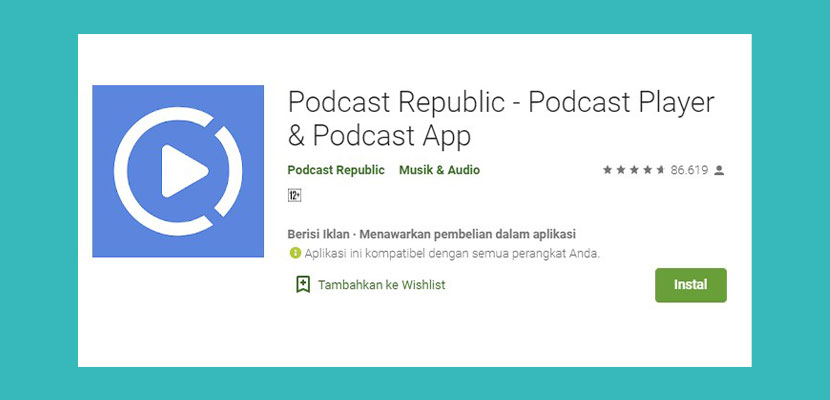 Podcast Republik Podcast Player Podcast App