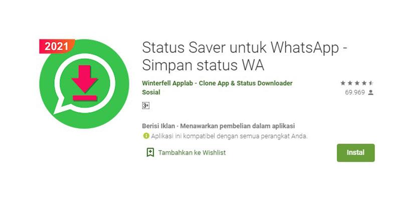 Status Saver Untuk WhatsApp