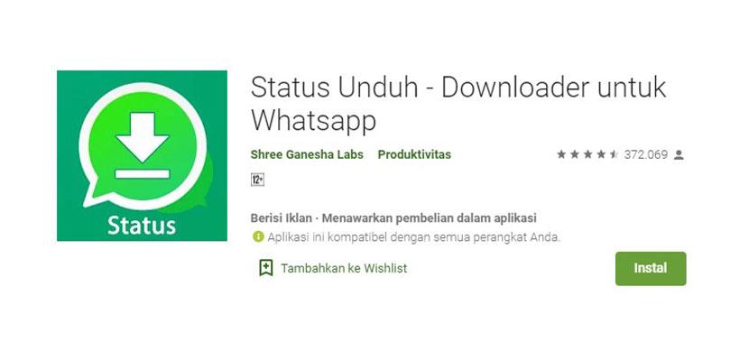Status Unduh Downloader Untuk WhatsApp