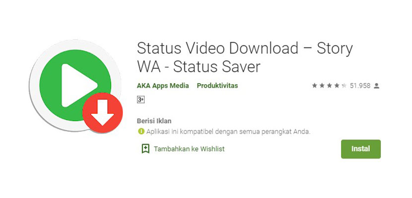 Status Video Download Story WA