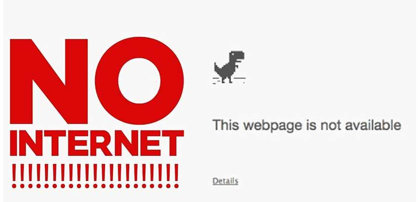 Tidak Ada Koneksi Internet