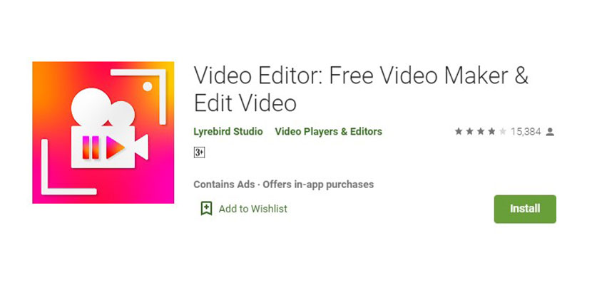 Video Editor Free Video Maker Edit Video