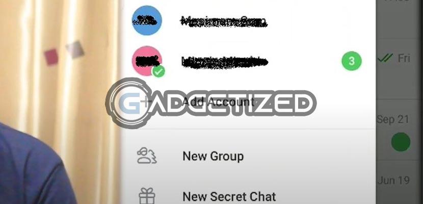 Akun Telegram Lain Berhasil Ditambahkan