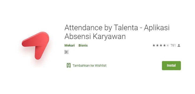 Attendance by Talenta Aplikasi Absensi Karyawan