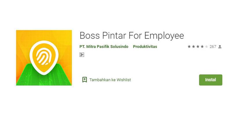 Boss Pintar For Employee