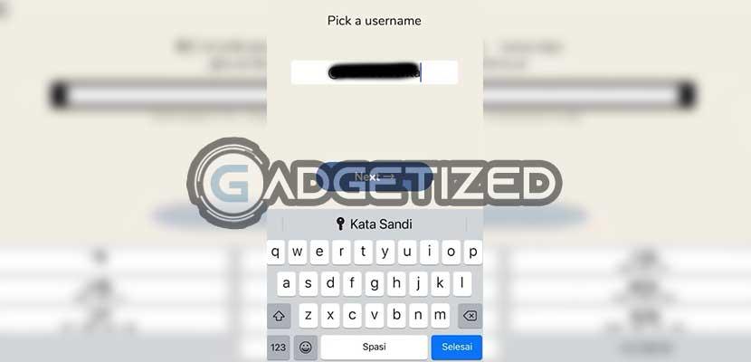 Buat Username