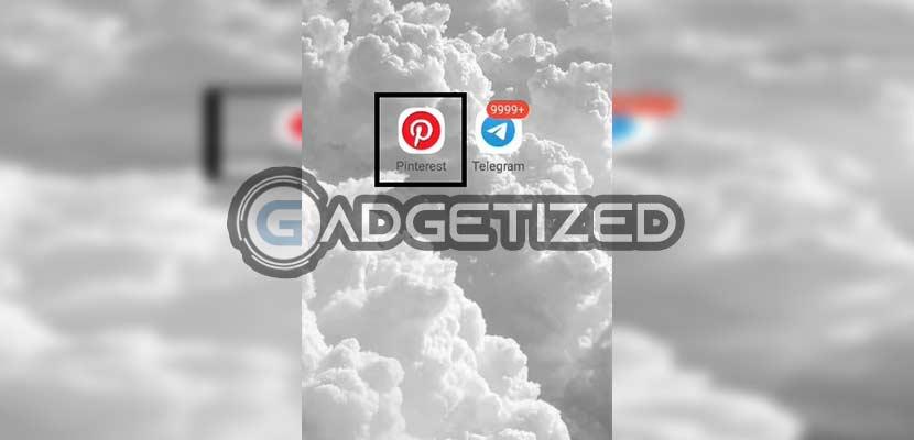 Buka Aplikasi Pinterest