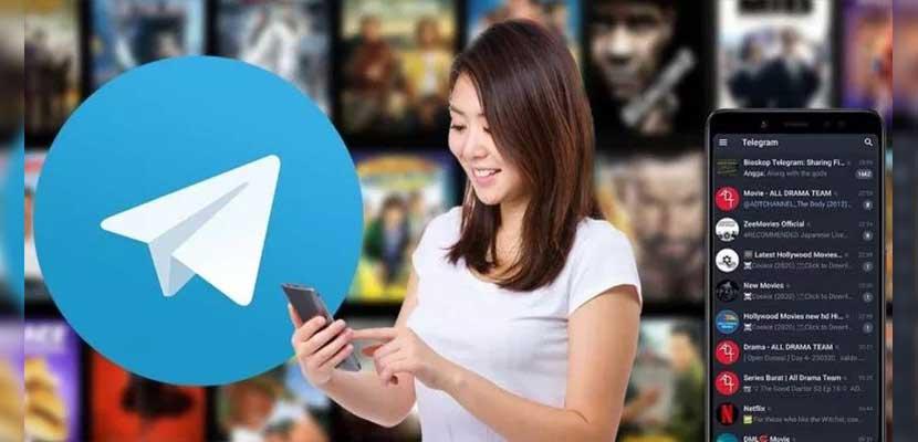 Cara Mencari Film di Telegram Android Gratis 100