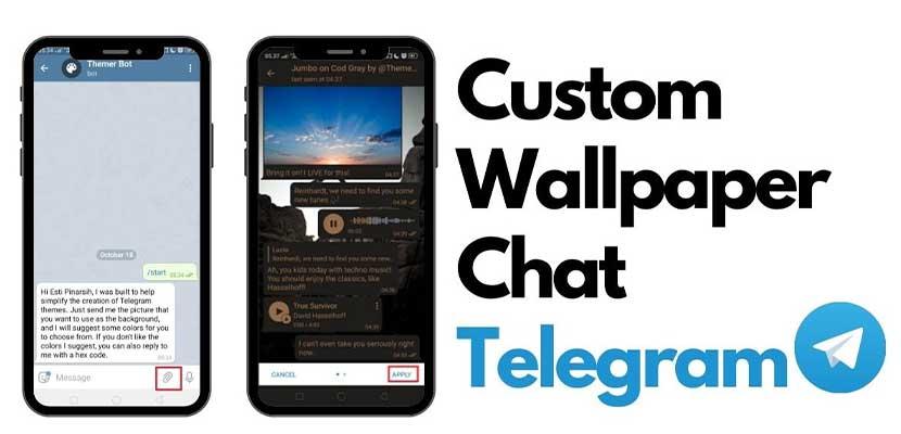 Cara Mengganti Wallpaper Telegram PC Android Cuma 5 Menit