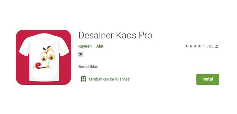 Desainer Kaos Pro