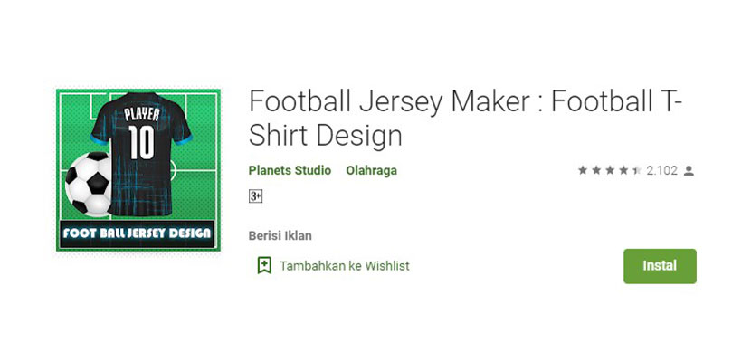 Football Jersey Maker