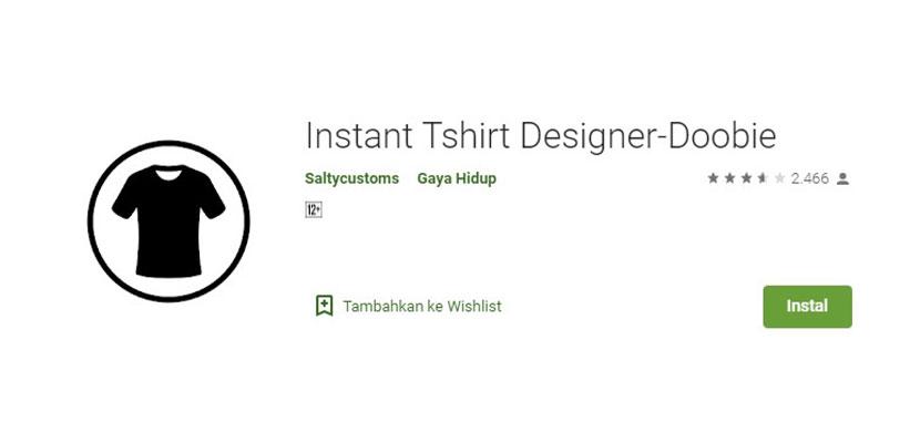 Instant Tshirt Designer Doobie