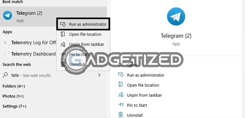 Jalankan Telegram di PC atau Laptop