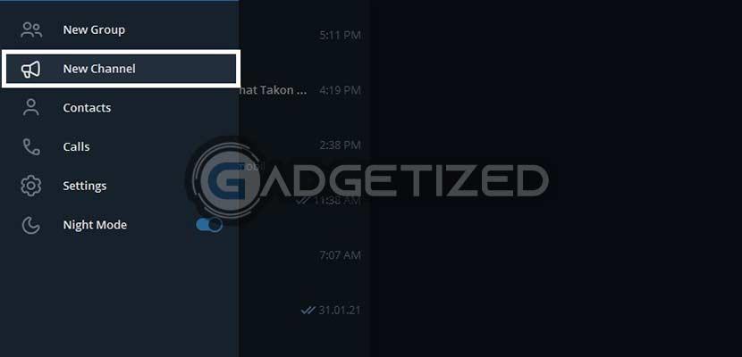 Jalankan Telegram di PC