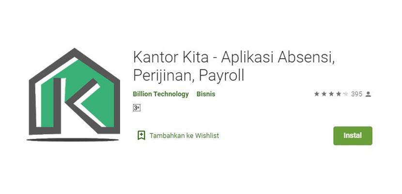 Kantor Kita Aplikasi Absensi Perijinan Payroll