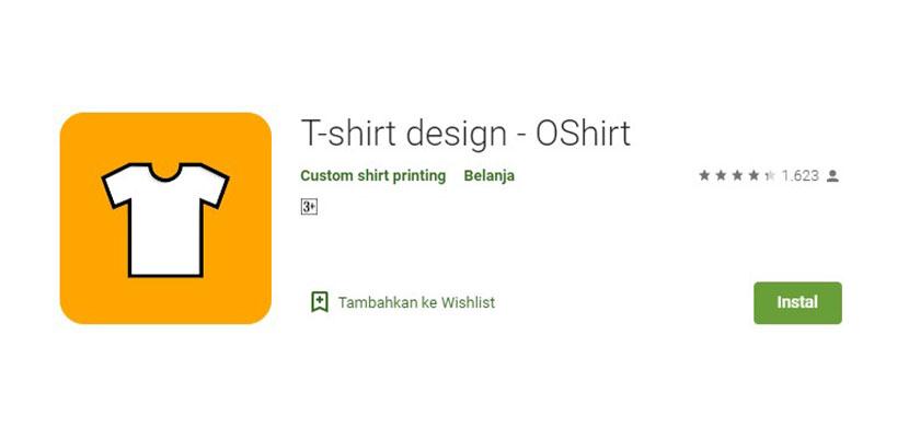 OShirt Aplikasi Desain Kaos Baju