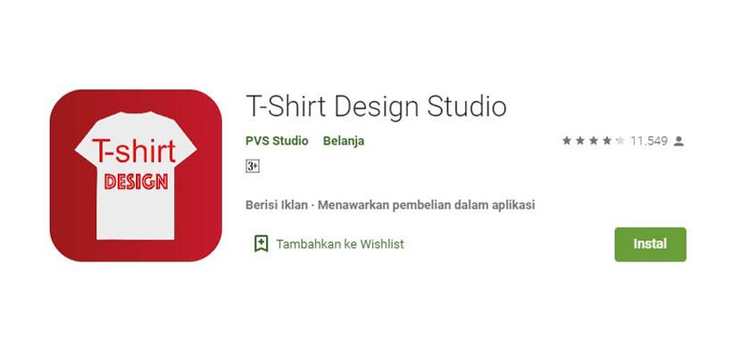 T Shirt Design Studio