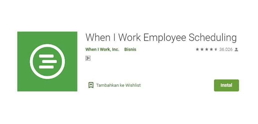 When I Work Employee Scheduling