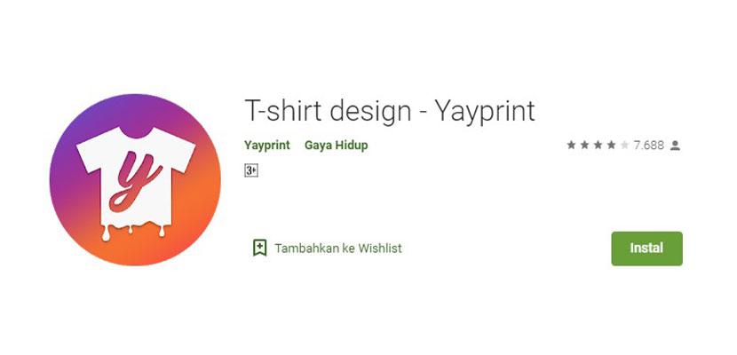 Yayprint Aplikasi Desain Kaos Baju